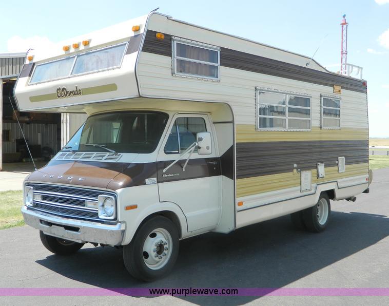 1976 El Dorado 21 Rv Motor Home Item B3808 Sold