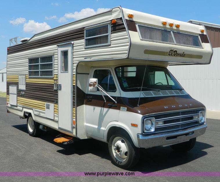1976 El Dorado 21' RV motor home   Item B3808   SOLD! Wednes