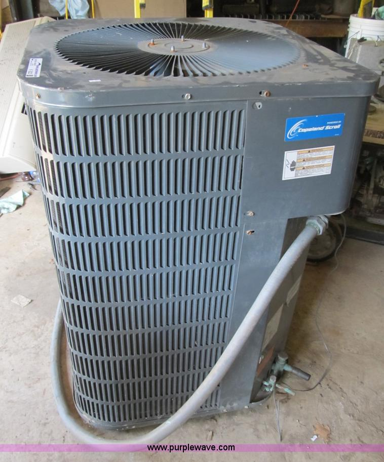 goodman 4 ton ac. K9323 Image For Item Goodman 4 Ton Air Conditioner Unit Ac