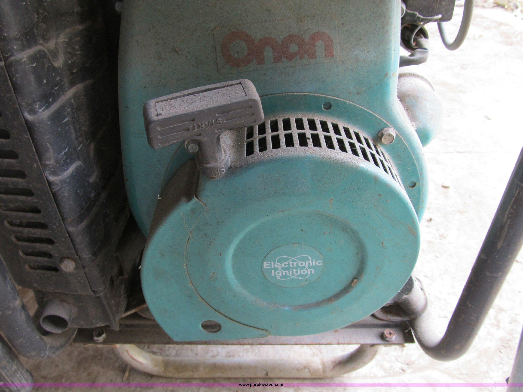 Onan K5000 Power Express Portable Generator Item K9321