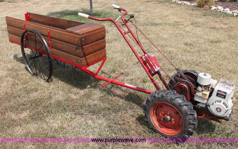 L9928 Image For Item L9928 Montgomery Ward 65X 5993 Hoe Trac Garden Tractor