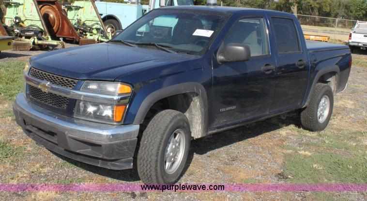 2004 Chevrolet Colorado Ls Crew Cab Pickup Truck Item D538