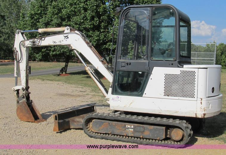 1997 Bobcat 331 compact excavator | Item B2788 | SOLD! Thurs...