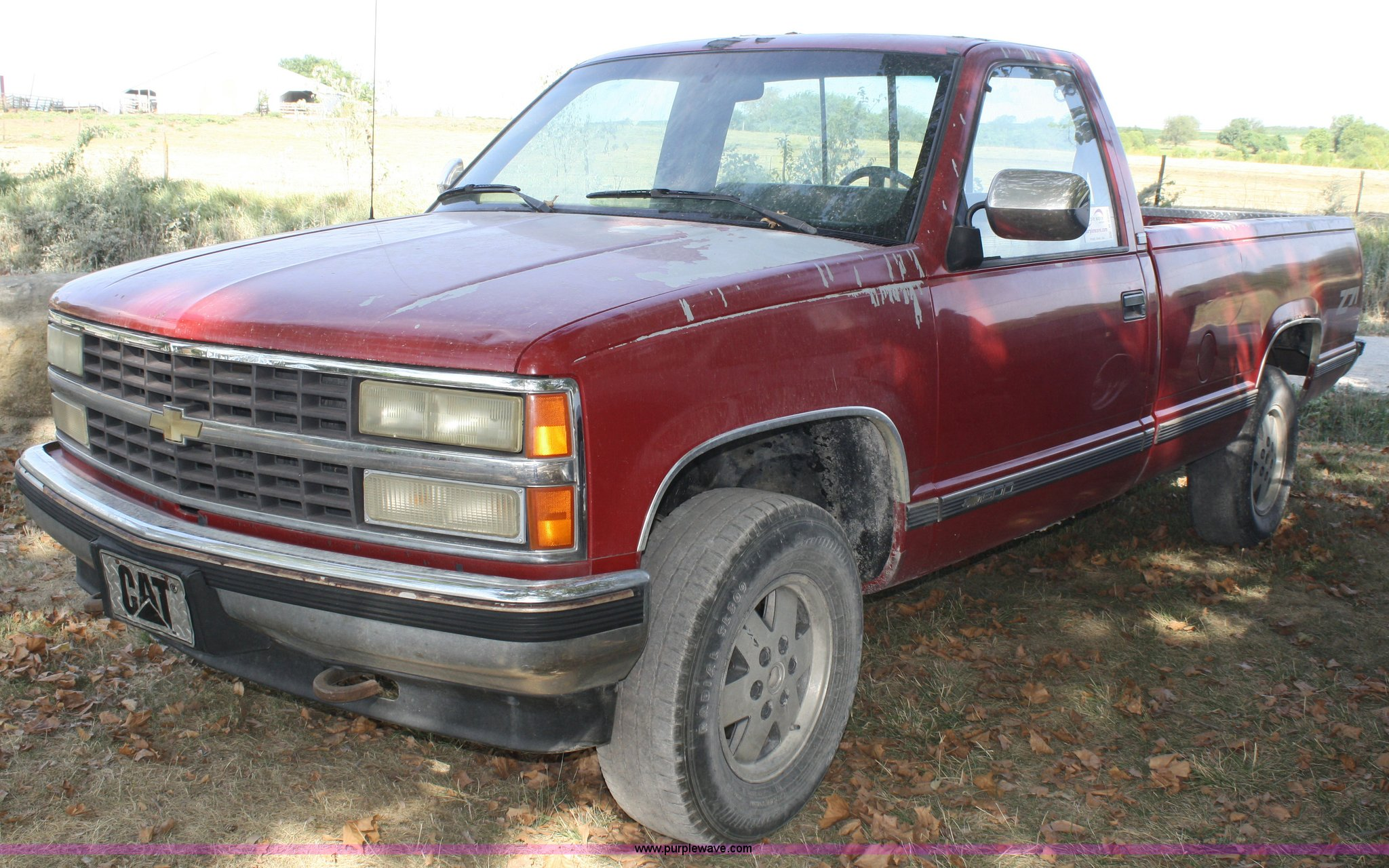 1990 chevrolet silverado 1500 pickup truck | item b6860 | so