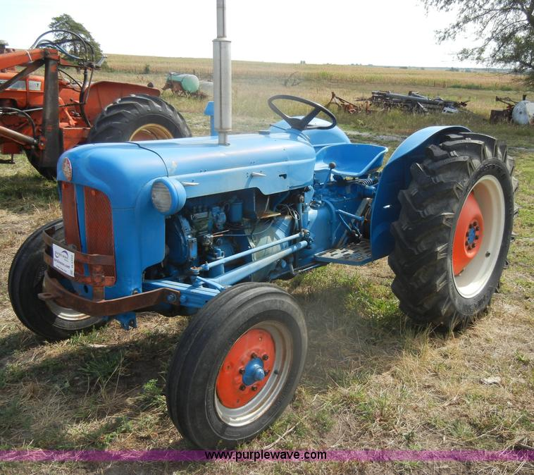 1958 Fordson Dextra Tractor