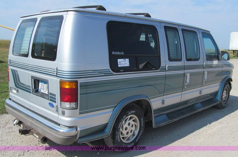A8439 Image For Item 1993 Ford E150 Econoline Conversion Van