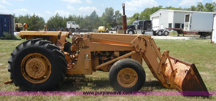 Ferguson 40 Industrial Tractor : Massey ferguson industrial tractor item d sold