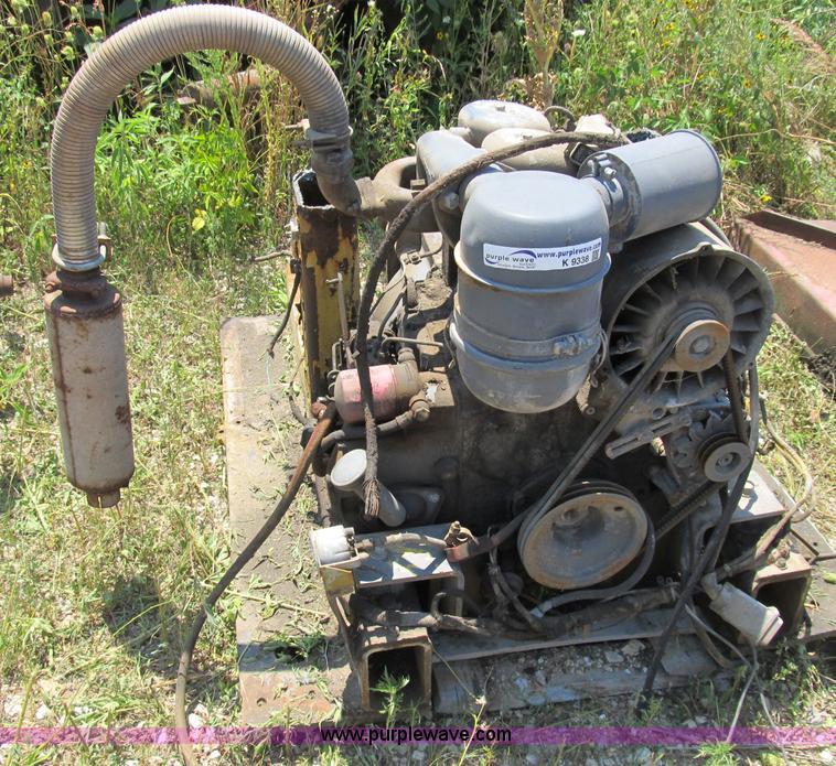 Deutz Two Cylinder Air Cooled Diesel Engine