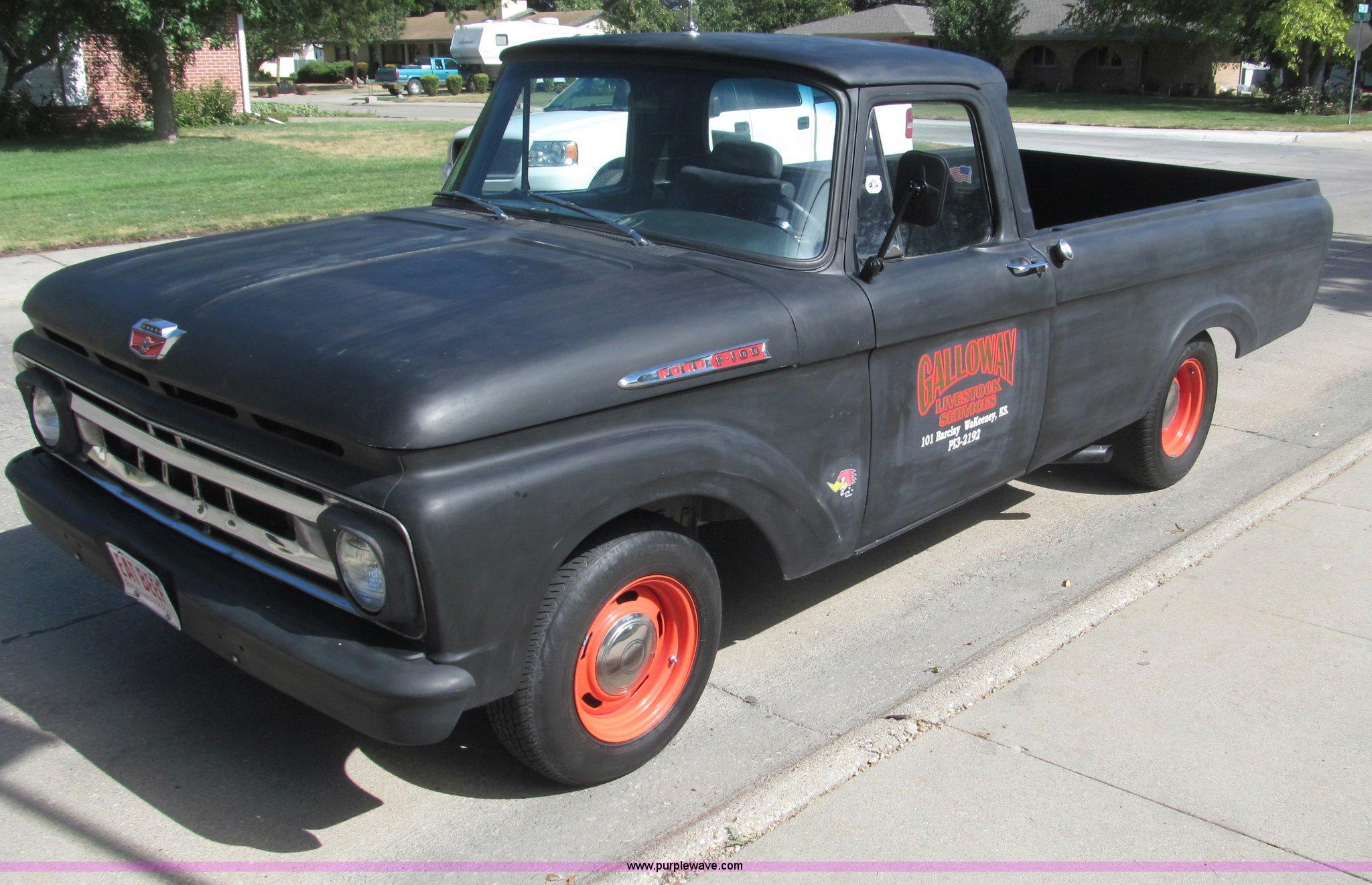 1962 Ford F100 Unibody Hot Rod pickup truck | Item B5159 | S...