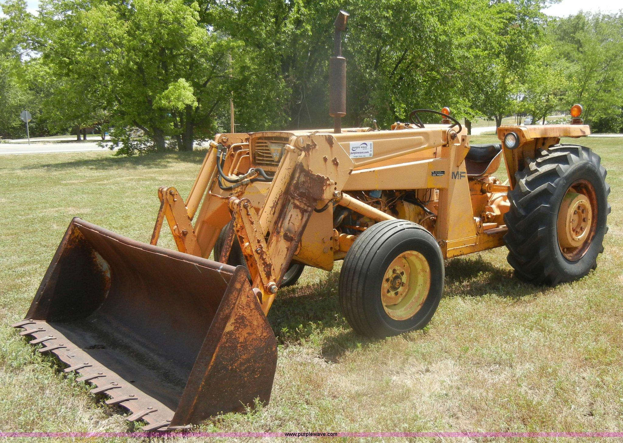 Ferguson 40 Tractor : Massey ferguson industrial tractor item d sold