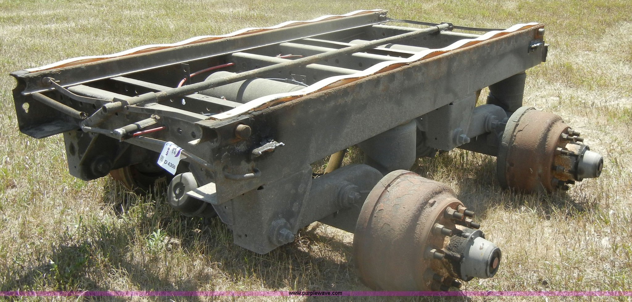 New Way air ride axle frame | Item D4308 | SOLD! August 22 M...