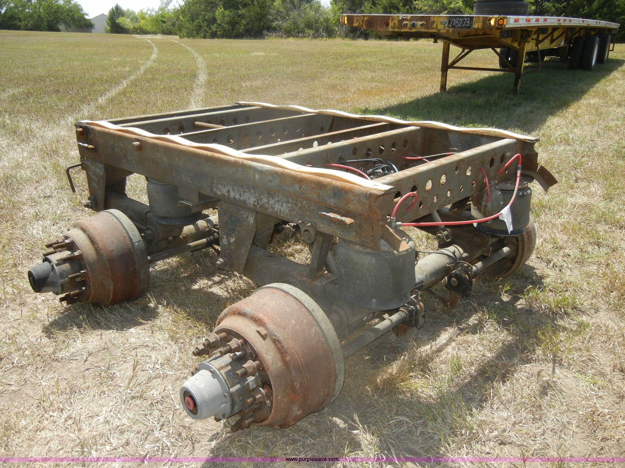 New Way air ride axle frame | Item D4309 | SOLD! August 22 M...