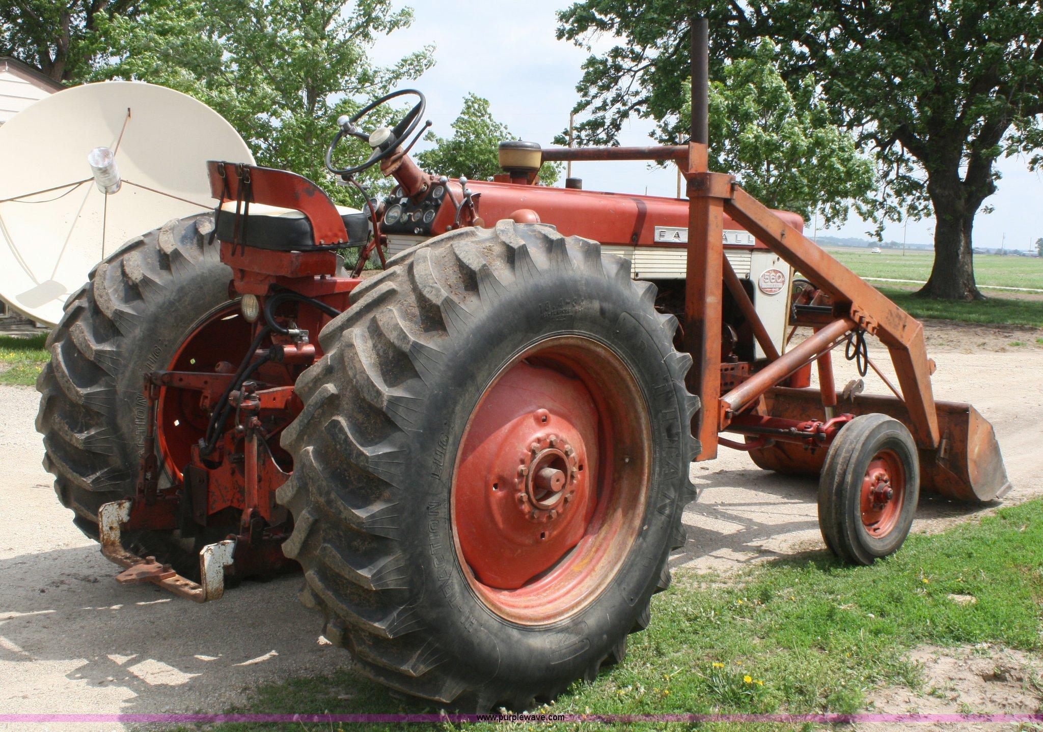 Farmall 560 Rear Wheels : Mccormick farmall tractor item b sold
