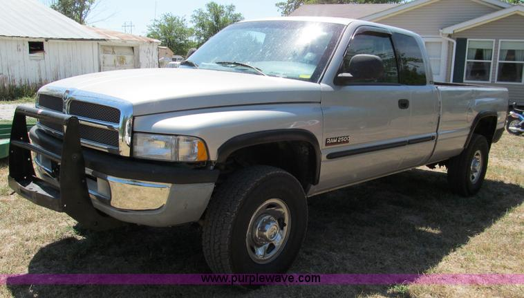 1998 Dodge Ram 2500 Laramie Slt Quad Cab Pickup Truck Item