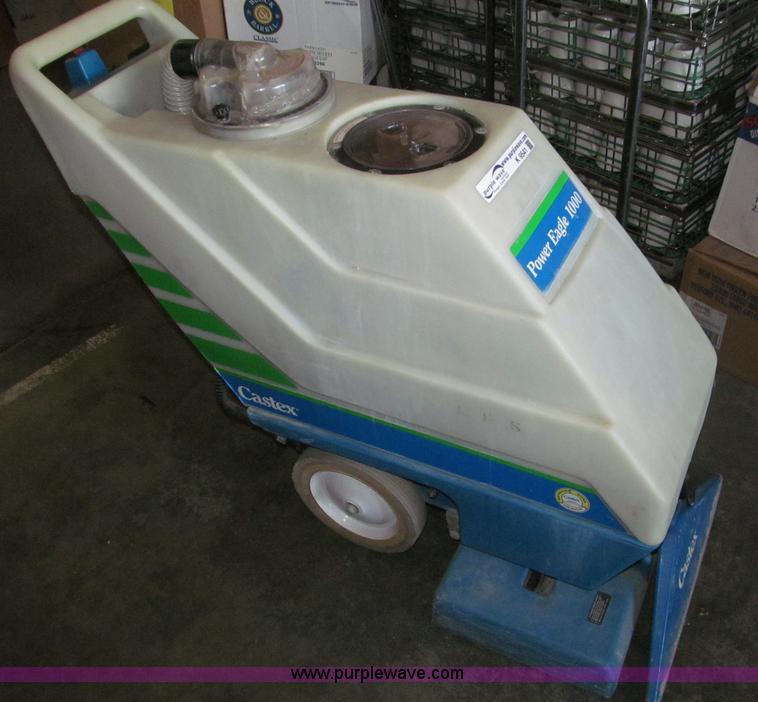 Castex Power Eagle 1000 Carpet Cleaner Item K9541 8 29