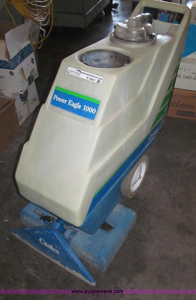 Castex Power Eagle 1000 Carpet Cleaner Item K9541 Sold