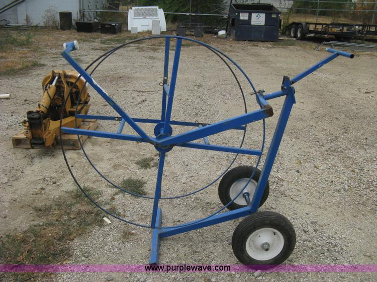 Dolly style poly hose reel   Item R9614   SOLD! Wednesday Au