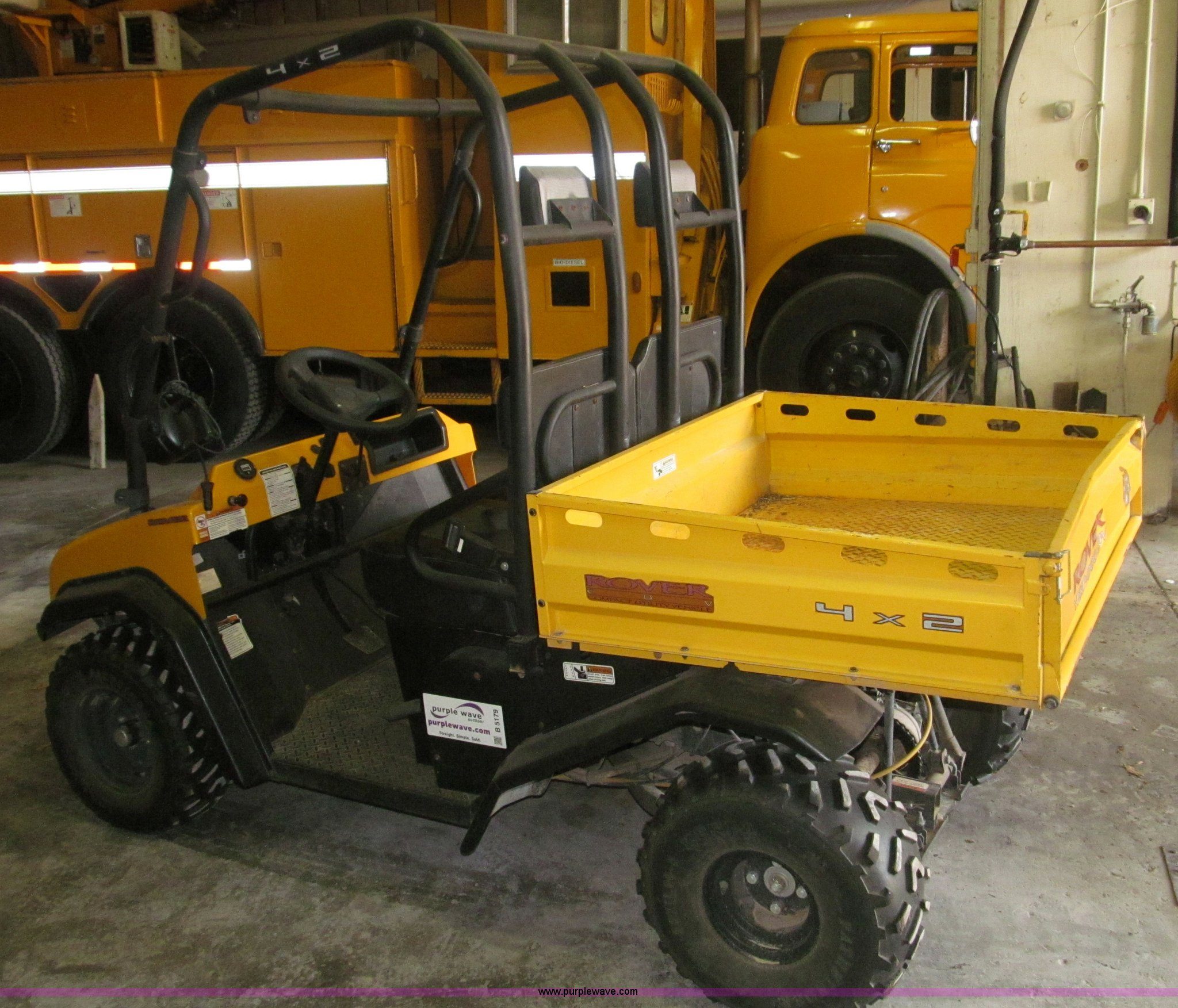 ... Yerf-dog Rover utility vehicle Full size in new window ...