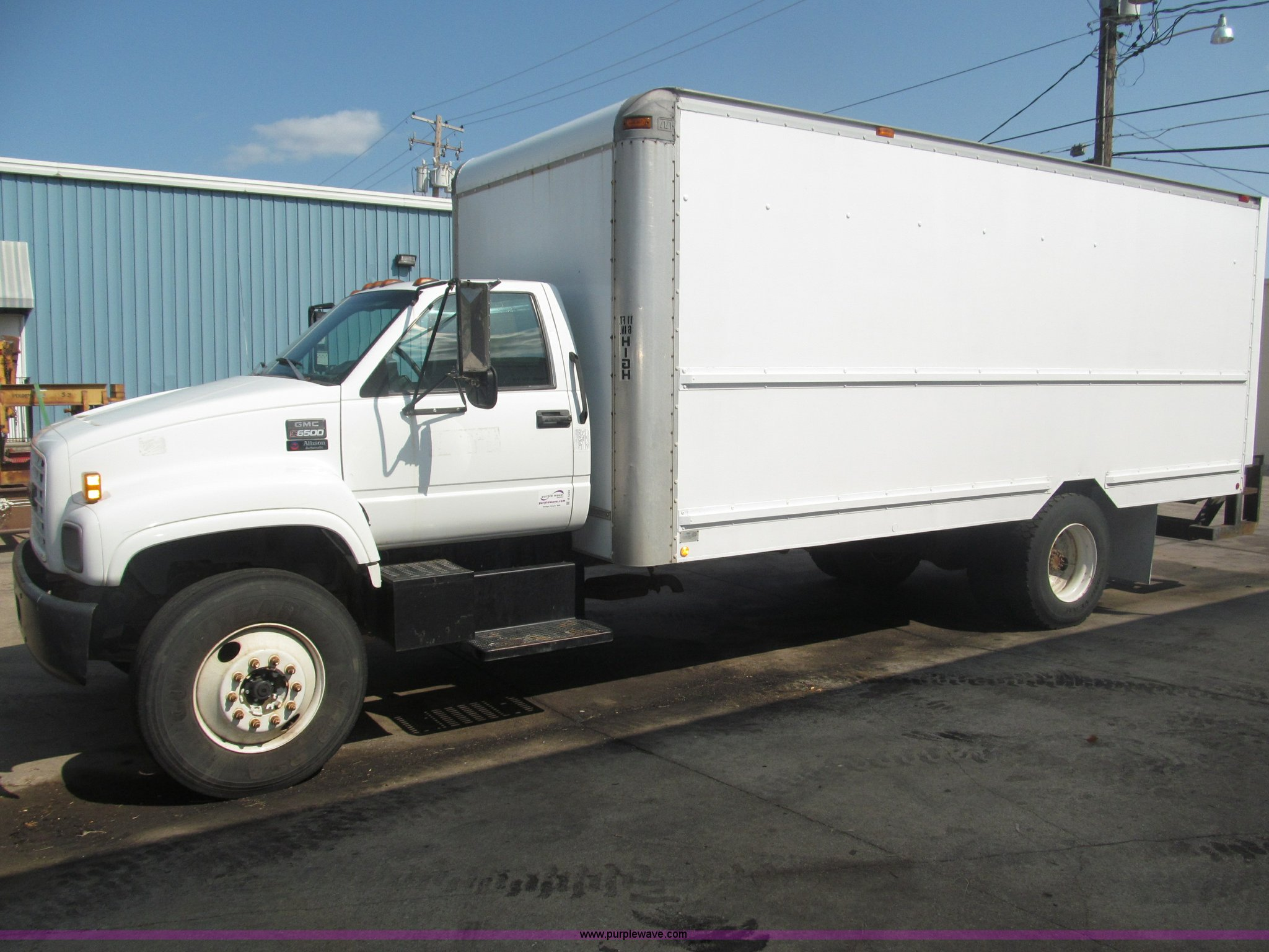 1998 gmc c6500 box truck item b5203 sold! wednesday augu GMC Dump Truck b5203 image for item b5203 1998 gmc c6500 box truck