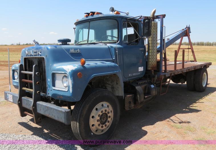 1979 Mack Tractor Truck : Mack winch truck item b sold thursday august