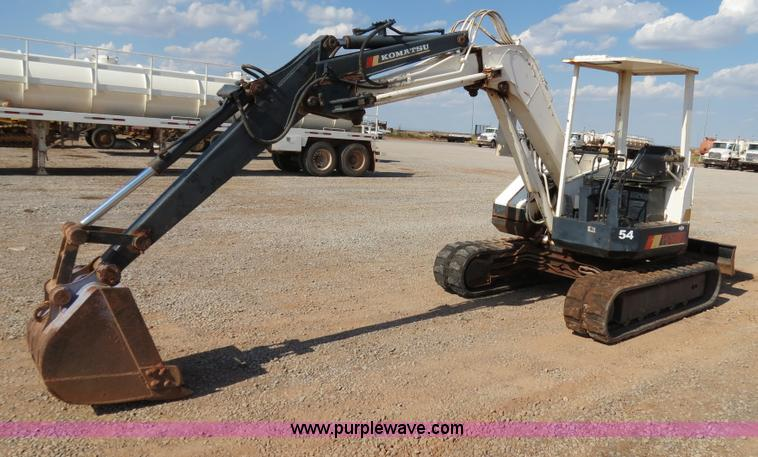 Komatsu PC50UU 1 Excavator Item B2471 SOLD Thursday Aug