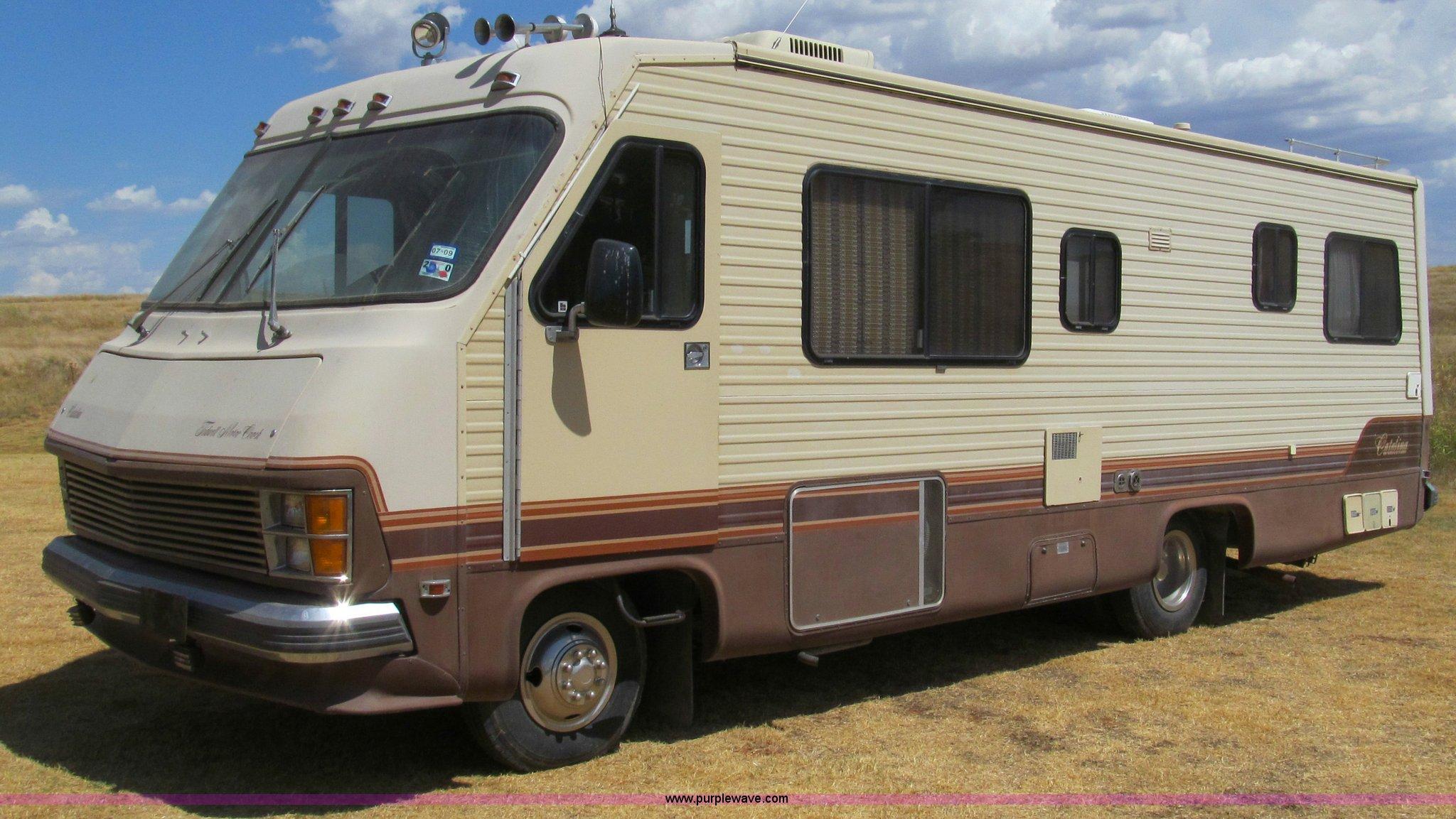 1985 Chevrolet P30 Catalina Tidwell 27' RV motor coach | Ite