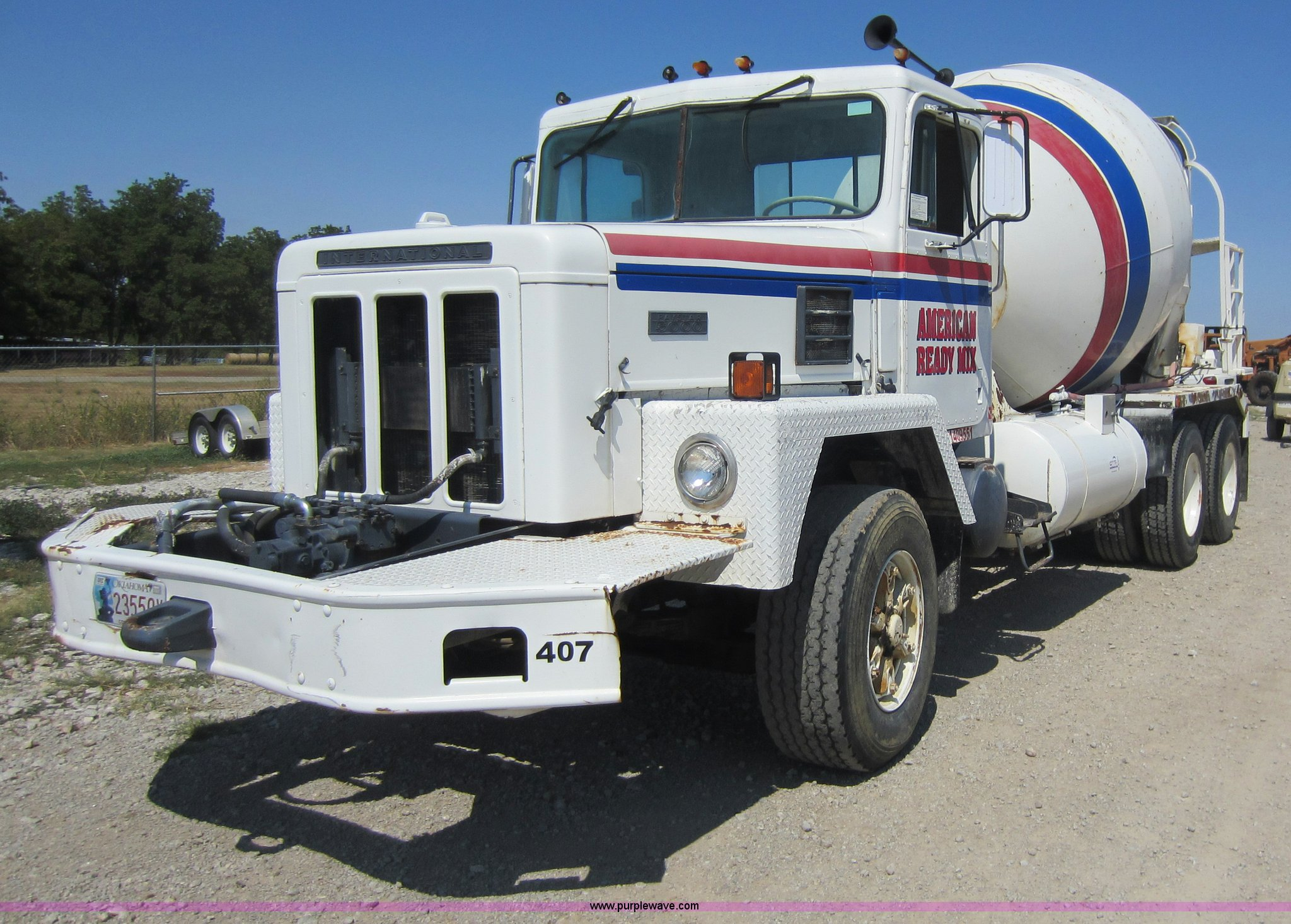 Trucks For Sale In Oklahoma Under 5000 >> 1980 International 5000 Mixer Truck Item D5603 Sold Thu