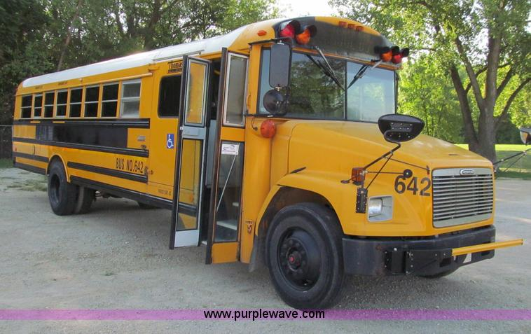 2001 Freightliner Fs65 School Bus Item A8447 Sold