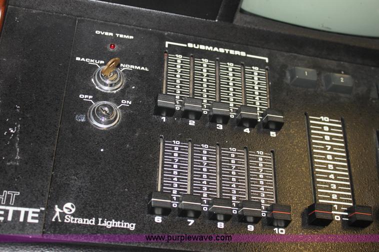 ... G4577 image for item G4577 Strand lighting mini light palette light board & Strand lighting mini light palette light board | Item G4577 ... azcodes.com