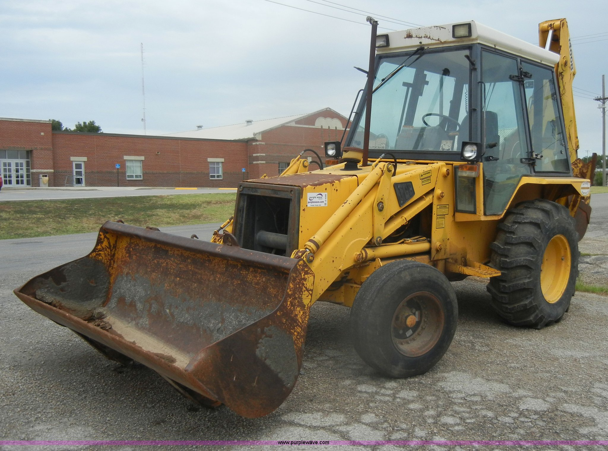 Jcb Backhoe 1400b Wiring Diagram 1986 Item D4399 Sold Tuesday