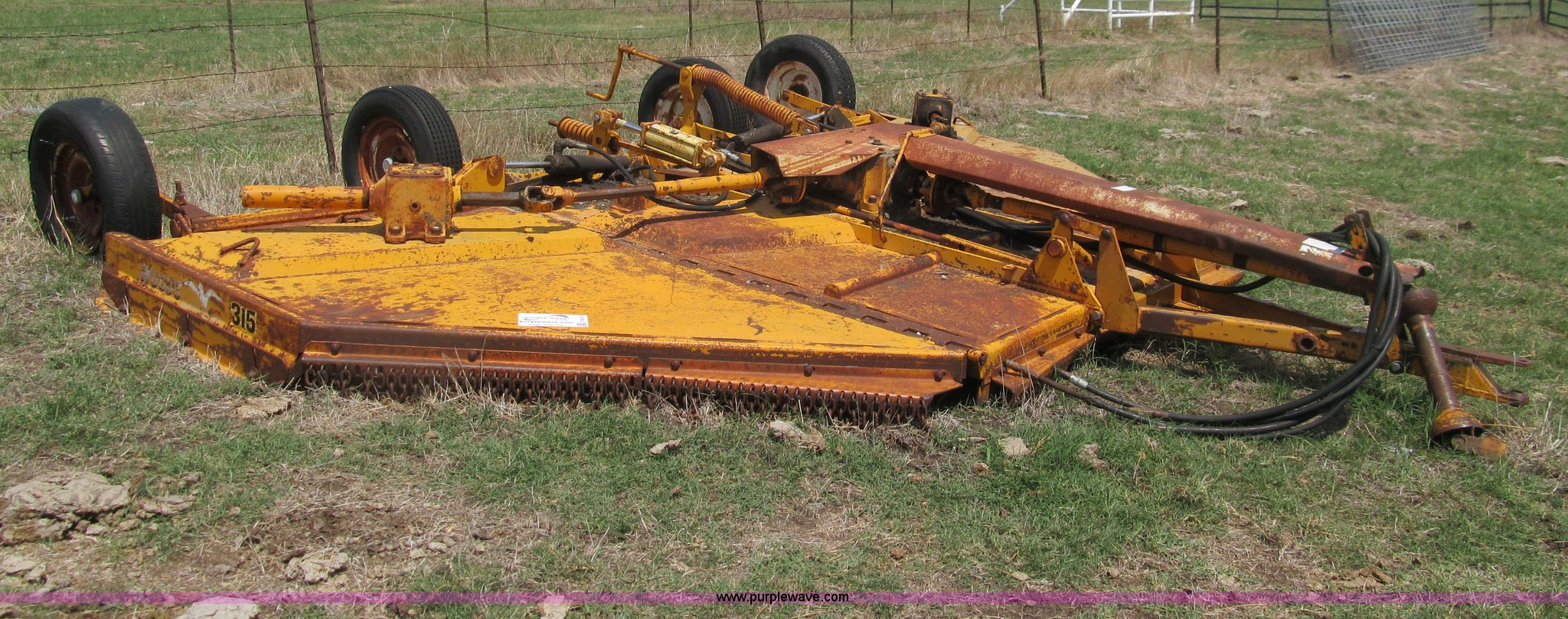 Woods 315 15 Batwing Mower Item F3015 Sold Wednesday