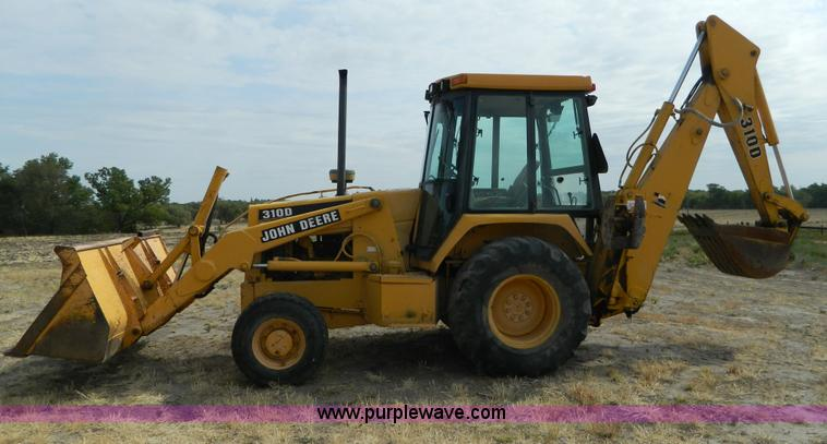 1993 John Deere 310D Backhoe Item B3841 SOLD Thursday S