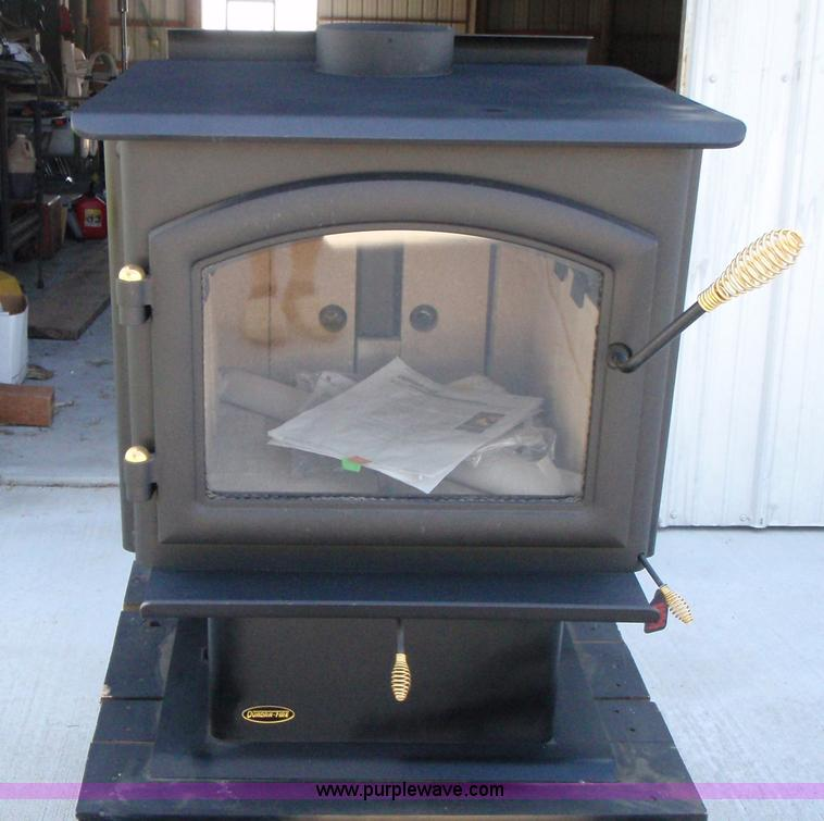 Quadrafire Millennium 3100 Wood Stove Item B1487 Sold
