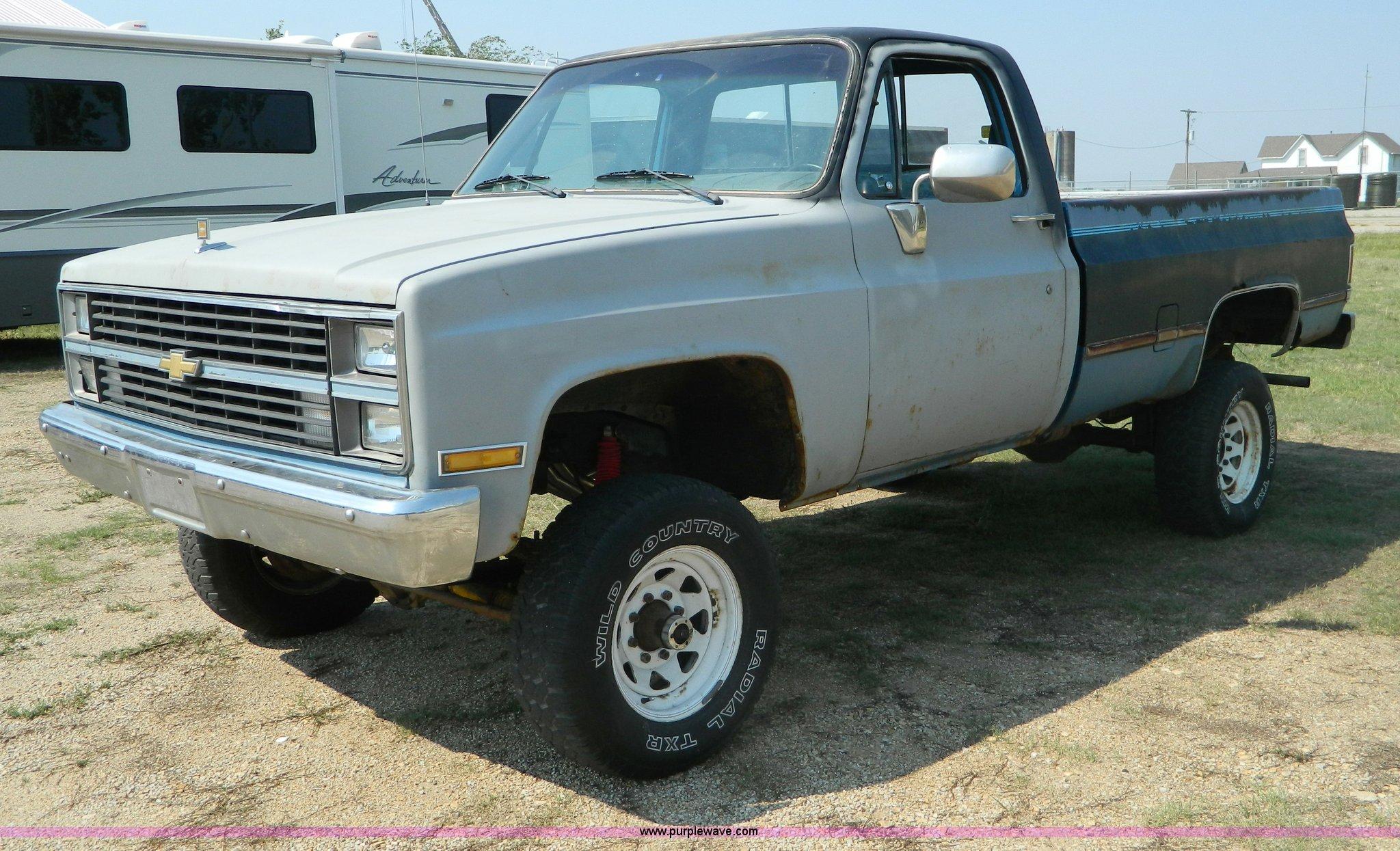 1984 Chevrolet K20 pickup truck | Item B3865 | SOLD! Septemb