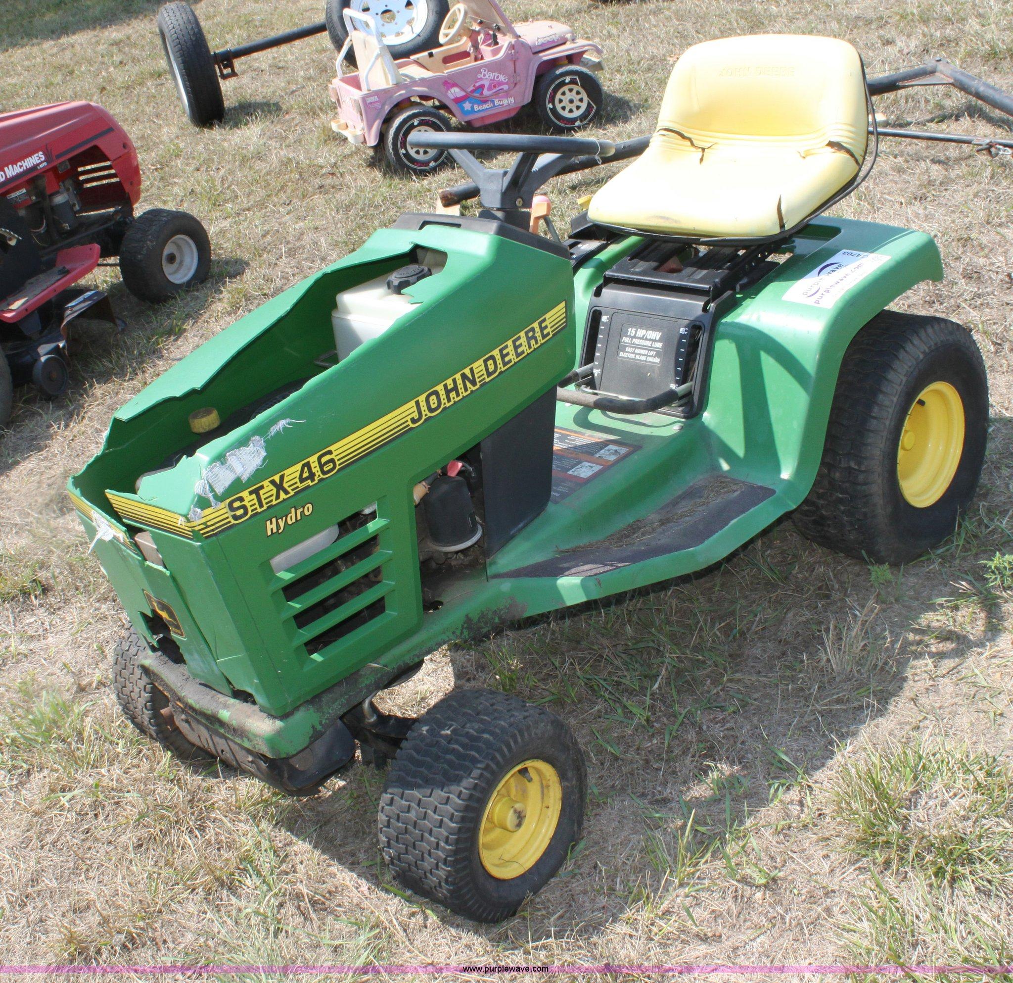 John Deere Stx46 Wiring Diagrams 1119 X 1537 Gif 639kb Diagram Carburetor Schema For Tecumseh Lawn Mower Item G4703 Sold September 1 Rh Purplewave Com