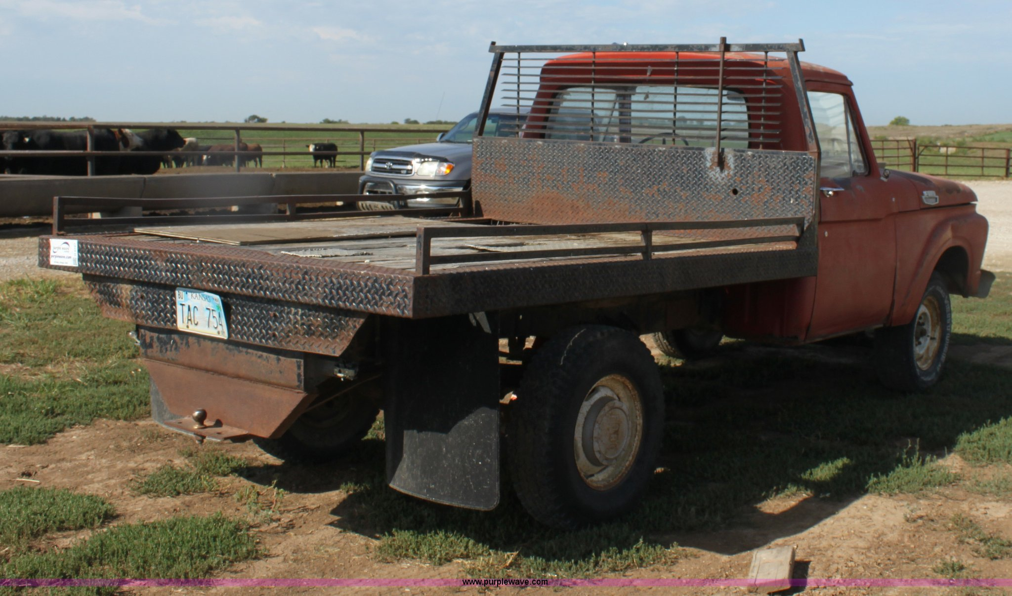1964 Ford F100 Flatbed Pickup Truck Item G4727 Sold Sep Full Size In New Window