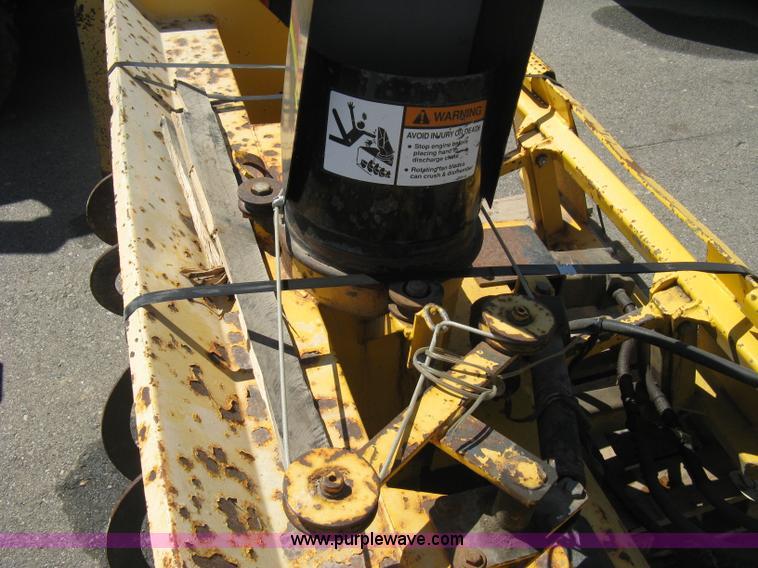 Erskine 1812 Snow Blower Skid Steer Attachment