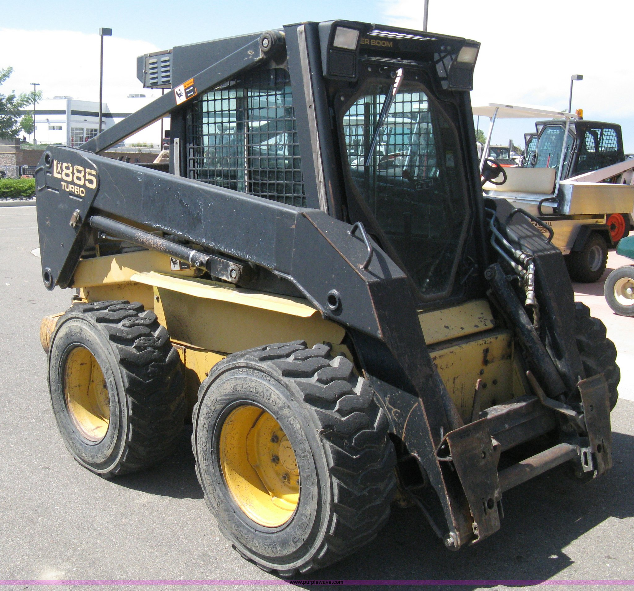 Used New Holland Lx885 Turbo: New Holland Skid Steer For Sale Colorado