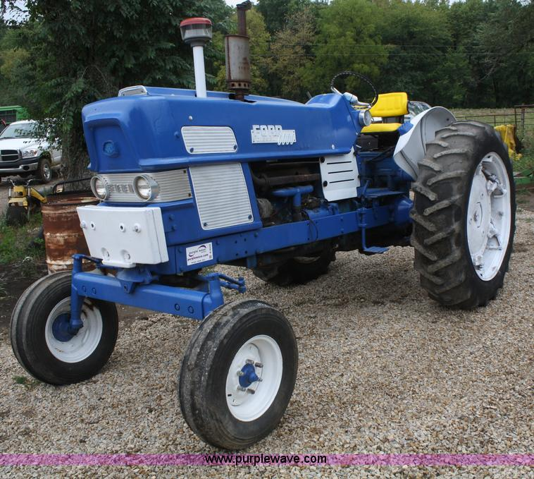 Ford 6000 Diesel Tractor : Ford tractor item b sold wednesday