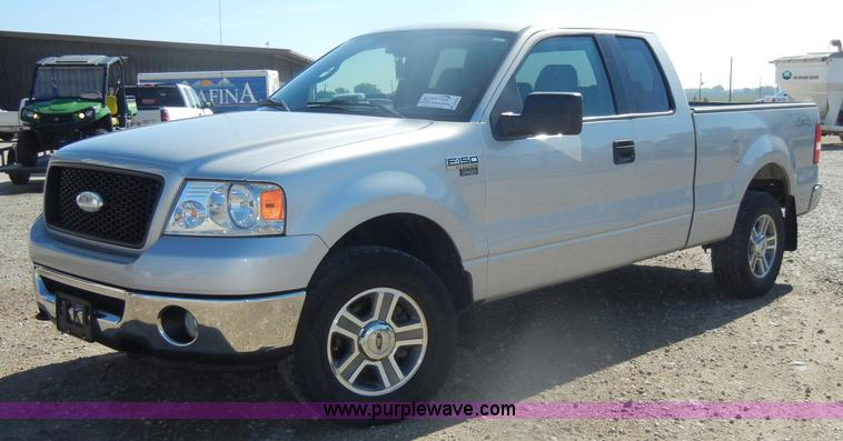 2006 ford f150 xlt supercab pickup truck | item d4615 | sold