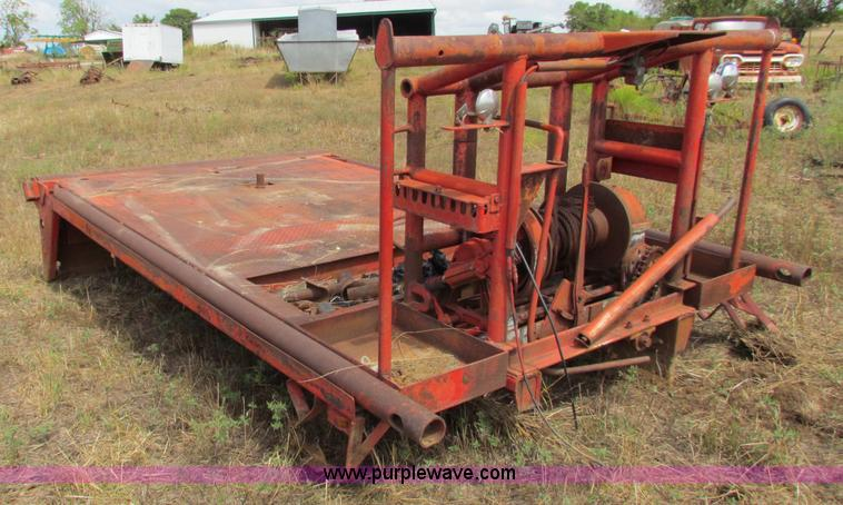 Tulsa winch and bed | Item N9154 | SOLD! Wednesday September