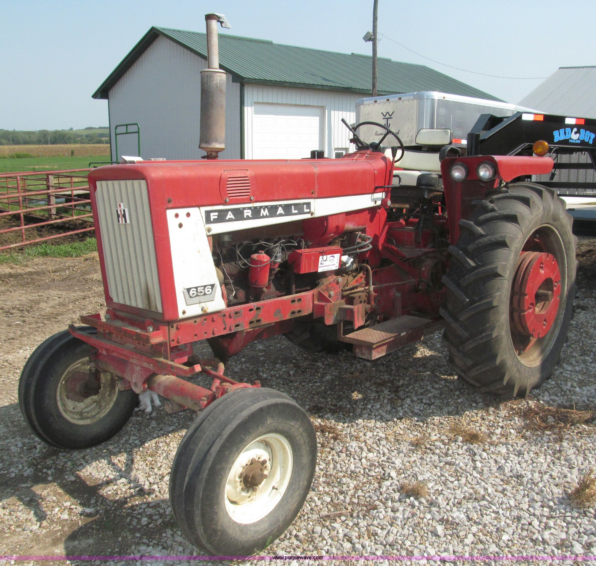 International 656 Seat : Ih farmall tractor item b sold wednesday