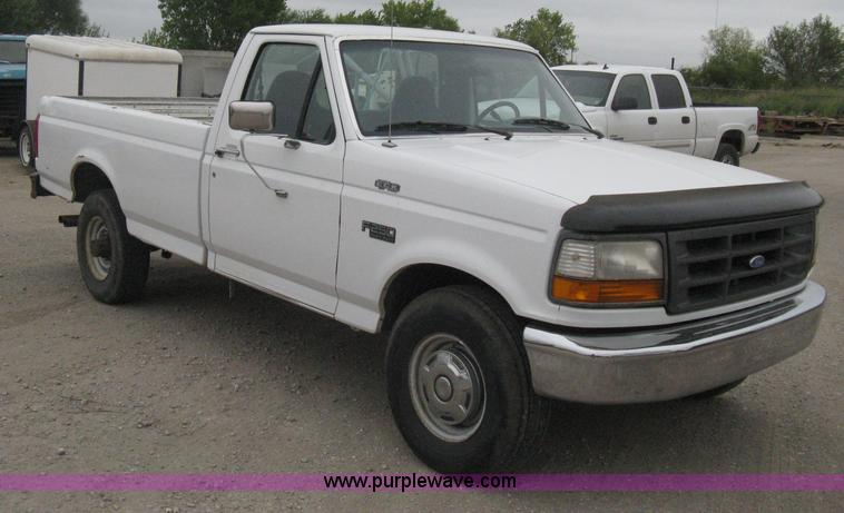 1997 ford f250 heavy duty pickup truck item b8149 sold. Black Bedroom Furniture Sets. Home Design Ideas