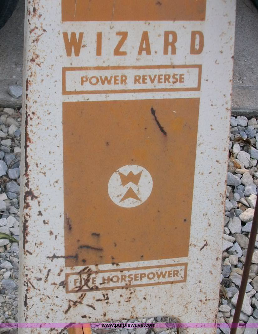 Wizard front tine garden tiller | Item B1485 | SOLD! Wednesd...