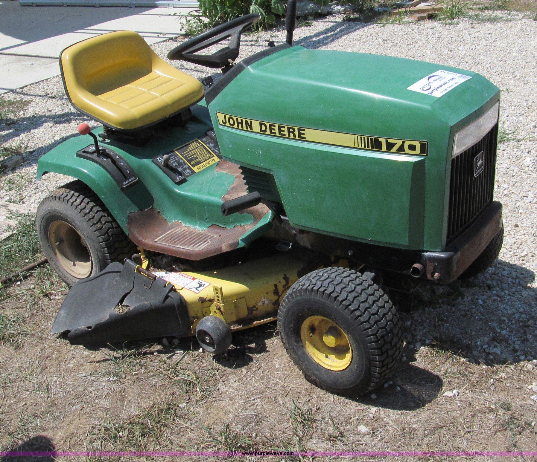 28 John Deere 170 Lawn Tractor Parts Diagram