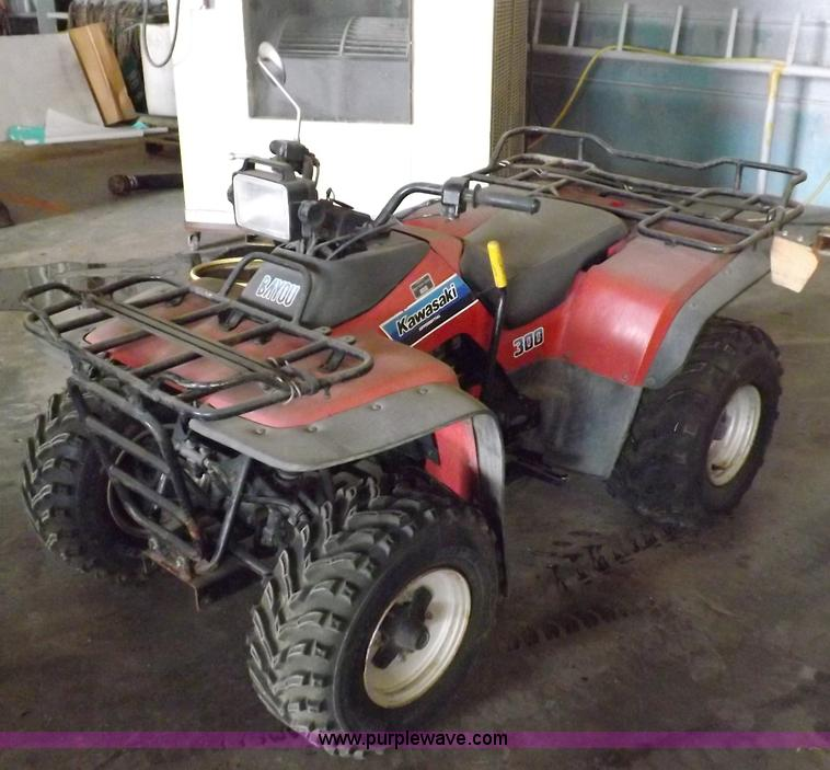 1986 kawasaki bayou 300 atv | item f6027 | sold! tuesday oct