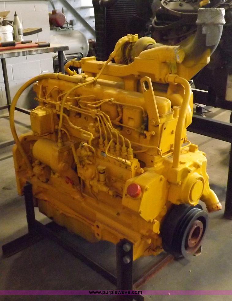 John Deere 466 Six Cylinder Turbo Diesel Engine Item J9039