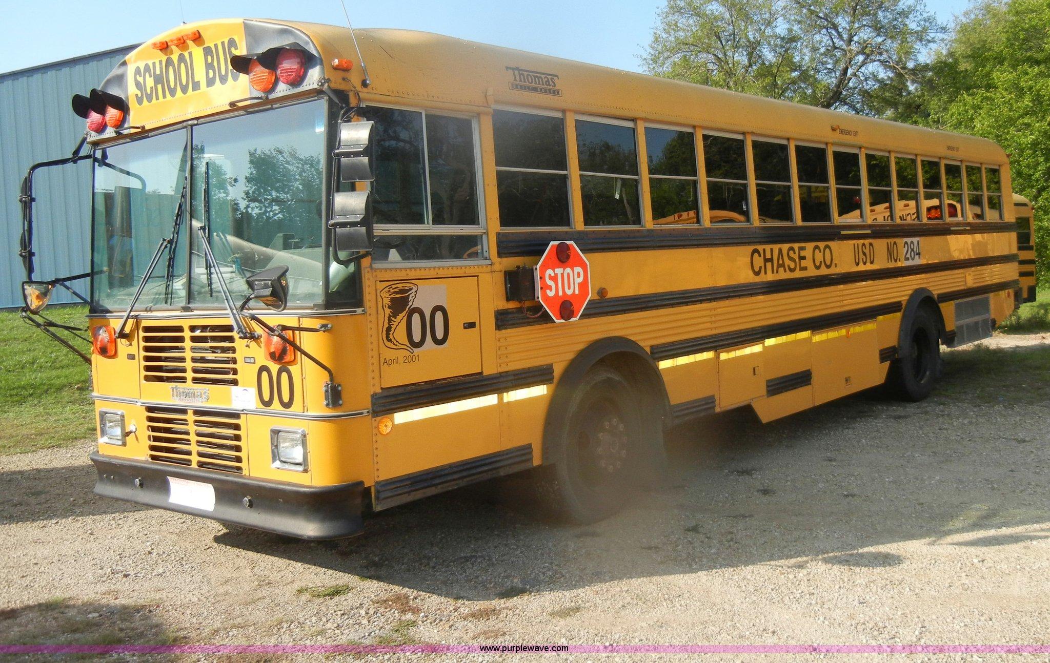 1997 Thomas Built Saf T Liner Mvp Ef School Bus Item D4496