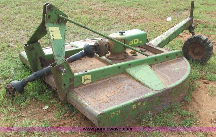 John Deere 509 5 Shredder Mower Item C3538 SOLD Wednes