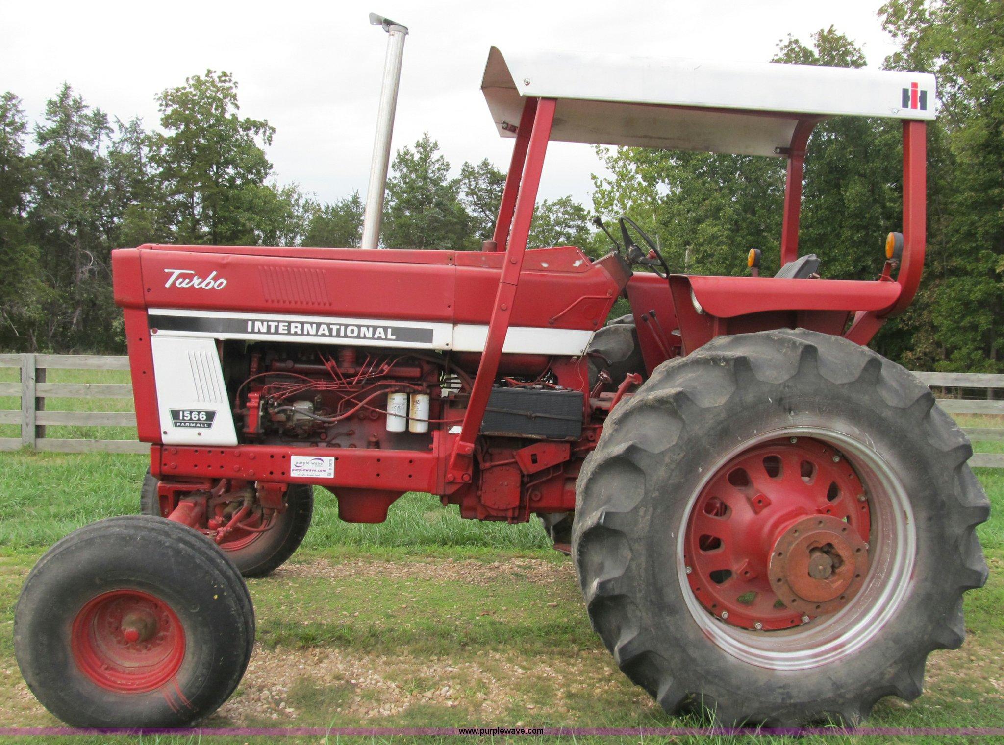 1975 International Farmall 1566 tractor | Item B2879 | SOLD!... on